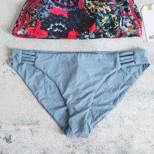 Roxy Swim - Roxy | Salty High Neck + Softly Love Bikini L